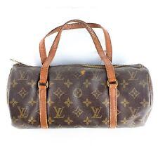 Auth LOUIS VUITTON Papillon 30 Hand Bag Purse Monogram M51385 Brown