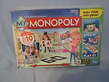 MONOPOLY CUSTOMIZABLE GAME SHUTTERFLY EDITION CREATE YOUR OWN PIECES CHRISTMAS