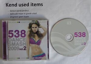 538 DANCE SMASH 2009 VOL. 2 cd various artists 25 tr album house pop