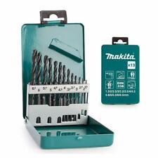 Makita Drill Bit Set 13 Piece MAKD54075 D-54075 HSS-R tensile strength 1.5-6.5mm