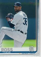 2019 Topps Baseball Detroit Tigers Team Set Series 1 2 and Update