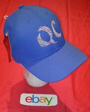 New NWT ! ROYAL BLUE QC Quake City Caps GOLF BASEBALL Hat adjustable strap back