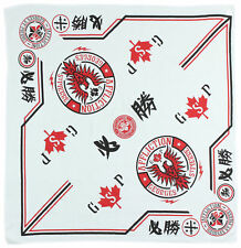 Affliction Georges St. Pierre GSP Bandana (White)