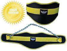 SENSHI Giappone ® in neoprene LAVAGGI Cintura DIP Peso Sollevamento GYM PULL UP Bodybuilding