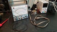 Vintage Senior Voltohmyst Rca Wv 98c Good Condition For Parts