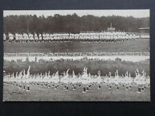 Military ALDERSHOT TATTOO Training Display West Kent Regt c1938 by Gale & Polden