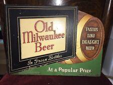 Antique Jos Schlitz Brewing Co Old Milwaukee Beer In Green Bottles. Form 644