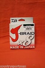 DAIWA J-Braid x8 Braided Line 40lb (165 yds) #40-150DG Dark Green