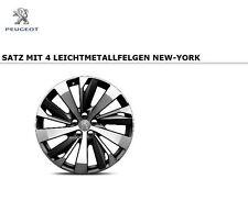 "Original Peugeot 3008 5008 SUV Satz 19 Zoll Leichtmetallfelgen ""NEW YORK"""
