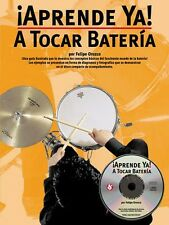 Aprende Ya: A Tocar Bateria Book and CD NEW 014001990