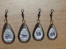 20 x30,50,70,80 Angelzubehör Karpfenblei, Angelblei, Birnenblei, grundblei blei