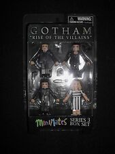 "Gotham ""Rise of the Villains"" Minimates - Series 3 Box Set - 4-pack"
