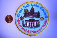 OA GREAT SALT LAKE COUNCIL SCOUT FLAP HISTORICAL PIONEER WALK CLOTH POCKET PATCH