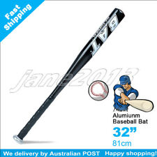 "Black-Brand New Aluminium Baseball Bat 32"" 81cm SYDNEY STOCK - jane2013"