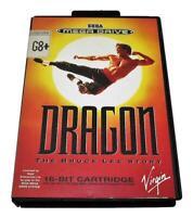Dragon The Bruce Lee Story Sega Mega Drive PAL *Complete*