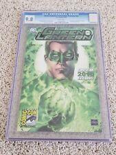 Green Lantern Convention Preview CGC 9.8   Geoff Johns   Ryan Reynolds   SDCC 1