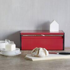 Brabantia Boîte À Pain avec Couvercle Abattant - Passion Red