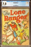 Lone Ranger #1 CGC 7.0 Dell Publishing 1948