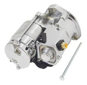 CHROME REPLACEMENT STARTER FOR HARLEY BIG TWIN  HD 1989-06