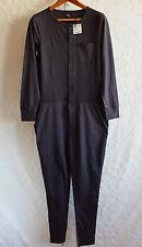 New Mens sz M ZARA Man jumpsuit navy overalls sleepwear loungewear