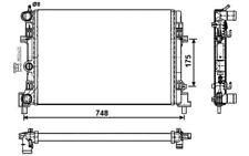 NRF Radiador, refrigeración del motor CITROEN VOLKSWAGEN POLO SEAT IBIZA 53024