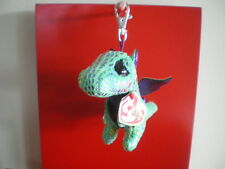 Ty Beanie Boos CINDER the dragon 3 inch KEYCLIP NWMT. NEW RELEASE- IN STOCK NOW