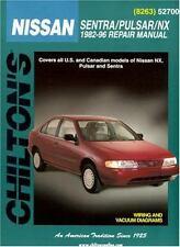 Nissan Sentra,Pulsar,NX,1982-96,Chilton Automotive Repair Manual