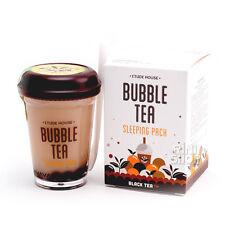 [ETUDE HOUSE] Bubble Tea Sleeping Pack #Black Tea 100g Rinishop