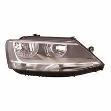 For VW Jetta 5/2011 Headlight Headlamp Black Inner Drivers Side O/S