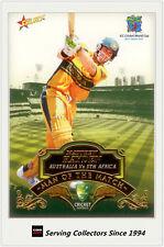 2007-08 Select Cricket Cards Man Of The Match MTM8 Matthew Hayden