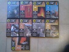 16458//LOT 9 DVD COLLECTION E=M6 N°1/2/3/5/6/7/8/9/10 EN TBE
