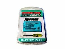 GBA SP Rechargeable 850mAh Battery for Nintendo GameBoy Advance SP System