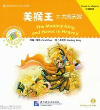 The Monkey King and the Havoc in Heaven - Chinese Graded Readers (with 1CD)