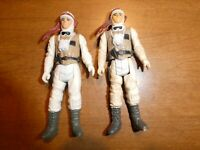 Star Wars 1980 Luke Skywalker Hoth Vintage Toy Action Figure Kenner Lot of 2