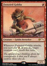 Frenzied Goblin foil   ex +   FNM Promo   Magic mtg