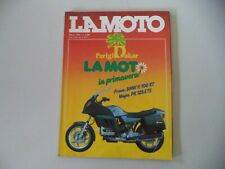 LA MOTO 3/1985 BMW K100 K 100 RT/YAMAHA RD 350/VESPA PK 125/KAWASAKI LTD 450/KLR