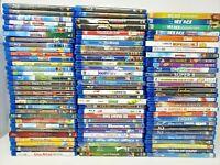 Lot of 90 Blu Ray Disney Dreamworks Pixar Spielberg