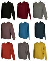 Polo uomo con bottoni maglia manica lunga misto lana RAGNO SPORT articolo A64888