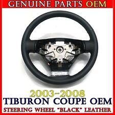 NEW OEM Leather (Black stitch) Steering Wheel 2003-2008 Hyundai TIBURON / COUPE