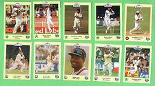 #D292. #5  TEN  1995 BUTTERCUP  BREAD CRICKET CARDS