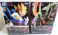 Dragon Ball Figure VEGETA CELL Set of 2 SCultures 5 Banpresto NEW F/S Japan