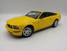 Ford Mustang GT Cabriolet 05 1/18 1 18 AUTOART diecast no box ! Read description