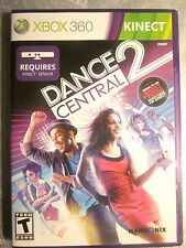 Kinect DANCE CENTRAL 2 (Microsoft Xbox 360, 2011) Fine, No Scratches On Disc