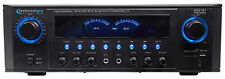 Technical Pro RX41BT Home Theater Receiver, Bluetooth USB/SD+1000w Amplifier Amp