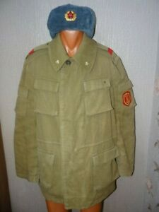 USSR Soviet army winter suit Musician Guard Honor St .War in Afghanistan 1989