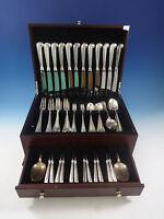 Queen Anne Williamsburg by Stieff Sterling Silver Dinner 12 Flatware Set 86 Pcs