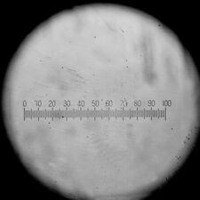 Calibration Slide w/ 100 Graticules f/ Microscope USB Camera Micrometer Eyepiece