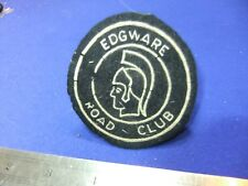 More details for badge patch cycling cycle club edgware road club cyclist bicycle member