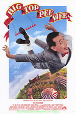 BIG TOP PEE WEE MOVIE POSTER Original 27x40 Rolled One Sheet PAUL REUBENS