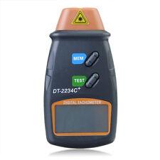 DANIU DT2234C+ Digital Laser RPM Tachometer Non Contact Measurement Tool